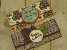 Money Holder Using Stampin' UP! Products - Hi Everyone! If you still give cold hard cash (or check) and need a money holder, look no further! Christmas Gift Card Holders, Holiday Cards, Christmas Cards, Fun Fold Cards, Folded Cards, Gift Cards Money, Money Holders, Card Tutorials, Card Tags