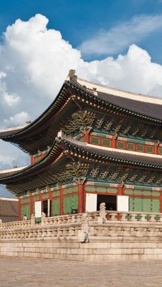 South Korea Palace iPhone 5 wallpapers, backgrounds, 640 x 1136