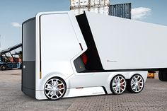 Designers have come up with Audi for the two electric trucks / Дизайнеры придумали для Audi две электрические фуры foto 5