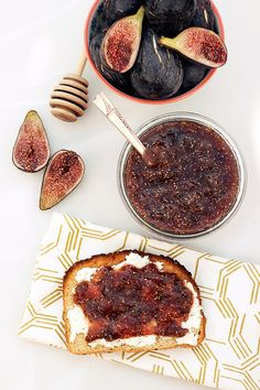 Fig Honey Jam - Gluten-free + Refined Sugar-Free with honey