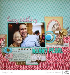 119: Dressed Up Die-Cuts -- Creating a single-photo layout with 3-4 papers and a handful of die-cuts