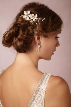 BHLDN Sweet Pea Comb in Shoes & Accessories Headpieces at BHLDN