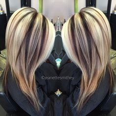 #longhairtips Love, love this color combination