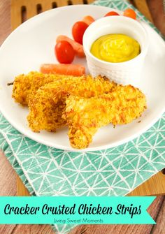 Cracker Crusted Chicken Strips - Recipe Tutorial