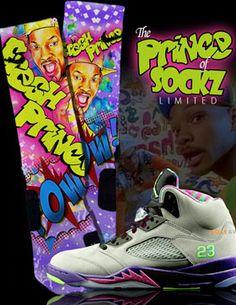 d5c0c7ccb2114d Fresh Prince Custom Nike Elite Sock pιnтereѕт    Princess Kiara Nike Elite  Socks