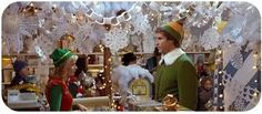 Everyone knows the best way to spread Christmas cheer is singing loud for all to hear! But the second best way is to enjoy 'Elf. Elf Christmas Decorations, Elf Decorations, Holiday Decorating, Decorating Ideas, Christmas Displays, Office Decorations, Snowflake Decorations, Elf Movie, Xmas