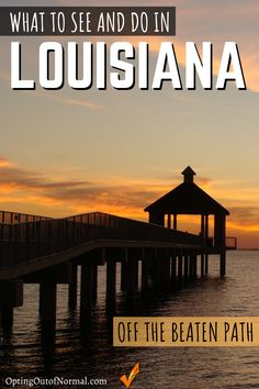 If you're Traveling to Louisiana for Mardi Gras don't stop there! There is so much more to see and do in this amazing state. Check out the things we found that are unique, different and definitely some hidden gems to explore. Get out that bucket list and start checking off your travel road trips! Louisiana is an amazing destination you won't want to miss! #travel #rvlife #louisiana