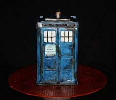 This cake is bigger on the inside                                                                                                                                                           Dr. Who Tardis                                                ..