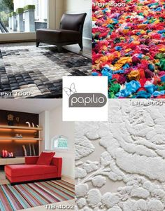 Innovative, sustainable designs from @papilio Rugs are now part of the Surya line.