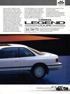 Honda Legend, Honda Motors, Honda Cars, Car Advertising, Page 3, Motor Company, Japan, Range, Legends