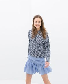 ZARA - NEW THIS WEEK - ACCORDION PLEAT SKIRT