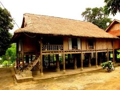 Stilt house,Mai Chau
