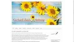 Gerhard Jaeck Stiftung - Für ein Kinderlachen mehr auf der Welt