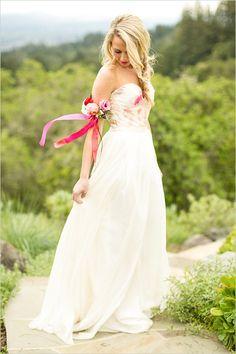 sarah seven dress idea @weddingchicks