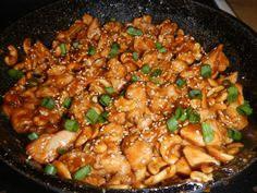 cashew chicken, looks yummy!