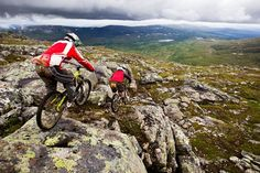 Sweden Mountain Biking  I would love to ride out there!