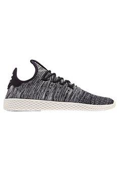 adidas Originals HERREN PHARELL WILLIAMS TENNIS HU PRIMEKNIT - Sneaker low - weiss - Zalando.de