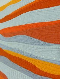 detail, October Sky by Michèle-Renée Charbonneau   Quilt Matters