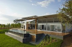 Cozy Modern Hill House Design - Mecano House in the Osa Peninsula of Costa Rica