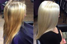 Daha açık ve daha sağlıklı saçlar!  #olaplex #saç #hair #platinium #saçaçma #platin #ombre #bleach #saçbakımı #haircare #blonde #sarışın #sarisin #sombre #saçaçma