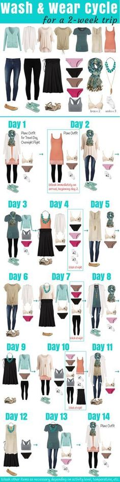 This is a great list ... don't forget swimsuit. You can buy Pareo or sarongs here and wear them all kinds of ways as well! -*-Dating & Relationship: http://qoo.by/2i08