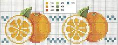 Cross Stitch Fruit, Cross Stitch Kitchen, Cross Stitch Borders, Cross Stitch Flowers, Cross Stitch Designs, Cross Stitching, Cross Stitch Patterns, Learn Embroidery, Cross Stitch Embroidery
