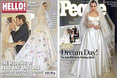 В прессу наконец-то попали фото со свадьбы Бреда Питта и Анджелины Джоли