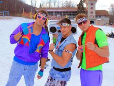 Beech Mountain Resort: Ski and Snowboard Coachella Outfit Men, 80s Outfit, 80s Theme Party Outfits, 80s Party, Party Time, 1980s Costume, Costumes, 80s Fashion, Party Fashion