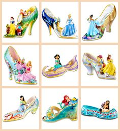Disney Princess Glass Slippers Collection