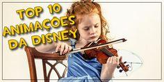 Playlist: Top 10 músicas de animações da Disney