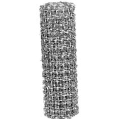 This hardware net works great for many applications especially as tree guards for your plants and young trees. Also used as chicken coop flooring, vegetable cages, fence repair and much more. Mesh size 0.5