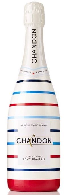 Beautiful special edition Chandon bottle