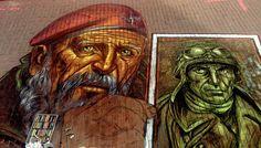 Vera Bugatti » Artist & Street Painter » World Street Painting Festival in Arnhem