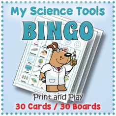 My Science Tools BINGO by Drag Drop Learning | Teachers Pay Teachers Learning Centers, Learning Resources, Fun Classroom Activities, Science Tools, Petri Dish, Educational Games For Kids, Matching Cards, Memory Games, Calling Cards