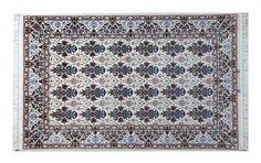 www.tappeti-irana.com   #ESFAHAN LANA KORK E STRUTTURA IN SETA . #TAPPETO #PERSIANO MOTIVO ZELLE SOLTAN.  MISURA : 174 X 112 #homedecor #design #interior #oriental #rugs #art