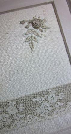 Elisabetta ricami a mano: Lettere fiorite