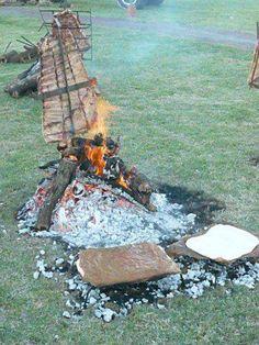 Fiesta del Costillar Asado a la estaca y de la Torta Asada - Tabossi, Entre Ríos