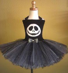 Jack Skellington tutu dress by SimiPrincessBoutique on Etsy