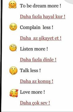 Turkish Lessons, Learn Turkish Language, Common Phrases, American English, Learn English Words, Education English, Study Motivation, English Language, Vocabulary