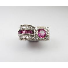 Rubies and diamond 1940s cocktail ring, 3 600,00 €