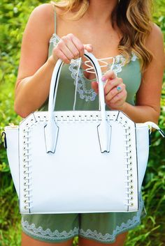 By Your Side Purse: White #shophopes