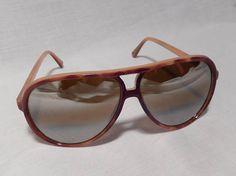 Men's Vintage Aviator Sunglasses Tortoise Shell Retro