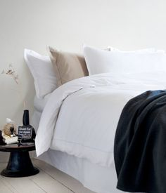 Just an example of calm + restful bedding