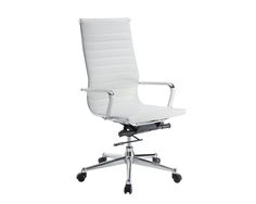 dmi 6041 80w pantera metal leather high back desk chair in white bedroomalluring members mark leather executive chair