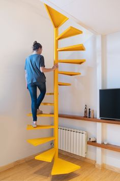 500 Best Stairs Images Stairs Architecture Interior Architecture | Duplex Staircase For Small House | Tiny Staircase | Traditional | Small Space | Wooden Stair | Readymade