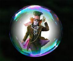 Hatter in a Bubble!