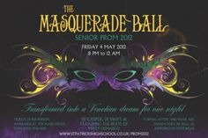 Masquerade Ball Poster from UK TIcket Printing