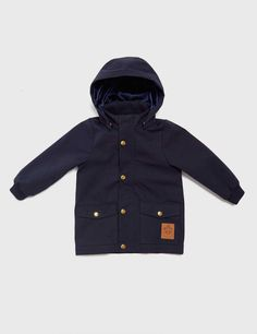 MINI RODINI PICO JACKET DARK BLUE