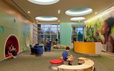Architecture, interior design, environmental graphics, pediatric, healthcare, children's, hospital