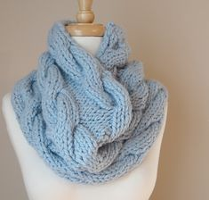 Ravelry: Big Cable Cowl pattern by Kate McMullin